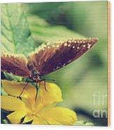 Wing Check Wood Print