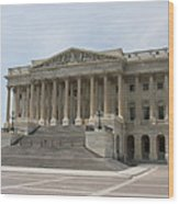 Wing Of The Capitol - Washington Dc  Wood Print