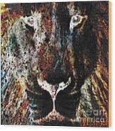 Winged Lion Wood Print