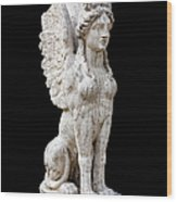 Winged Sphinx Wood Print