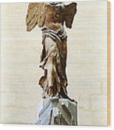 Winged Victory Of Samothrace Wood Print by Conor OBrien