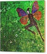 Wings 10 Wood Print
