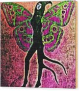 Wings 11 Wood Print