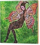 Wings 17 Wood Print