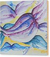 Wings Wood Print