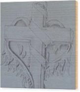 Wings Of An Angel Wood Print