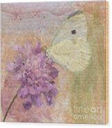 Wings Of Beauty Wood Print