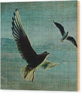 Wings Over The World Wood Print