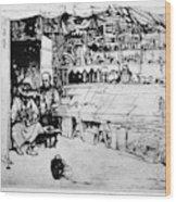 Winkler Ginger Shop, 1922 Wood Print