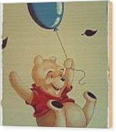 Winnie The Pooh Wood Print