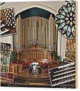 Winnipeg Church Montage Wood Print