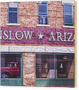 Winslow Arizona 2 Wood Print