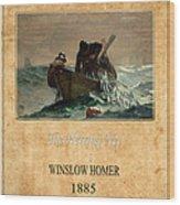 Winslow Homer 2 Wood Print