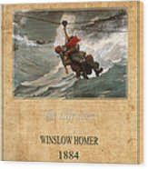 Winslow Homer 3 Wood Print
