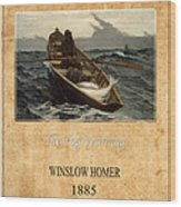 Winslow Homer 4 Wood Print