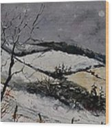 Winter 4531 Wood Print