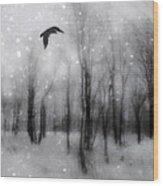 Winter Bliss Wood Print