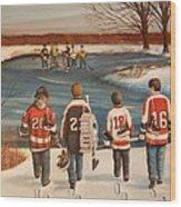 Winter Classic - 2010 Wood Print