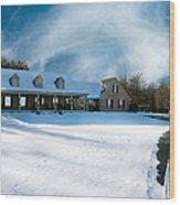 Winter Day Three Wood Print
