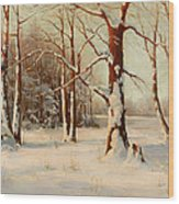 Winter Dream Wood Print