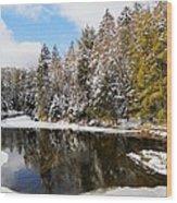 Winter Impressions ... Wood Print