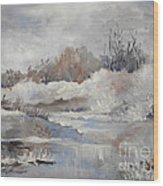 Winter Impressions Wood Print