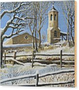 Winter In Stoykite Wood Print