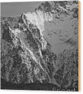 winter in the Bavarian alps 4 Wood Print