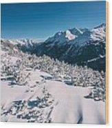 Winter In Tirol Wood Print