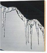 Winter Lace Wood Print