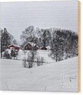 Winter Landscape 5 Wood Print