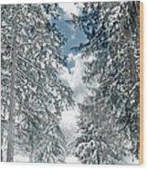 Winter Me Wood Print