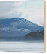 Winter Mountain Wood Print