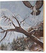 Winter Nesting Wood Print