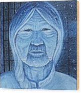 Winter Portrait Wood Print by Jacquelyn Roberts