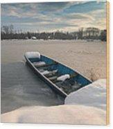 Winter Sleep Wood Print