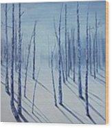 Winter Splendor Wood Print