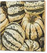 Winter Squash Wood Print