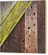 Winter Storage Wood Print