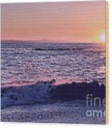 Winter Sunset In Laguna Beach IIi Wood Print