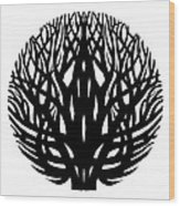Unity - Winter Tree Wood Print