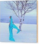 Winter Tree Empress Wood Print