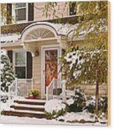 Winter - Westfield Nj - It's Too Early For Winter Wood Print