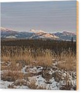 Winter Wilderness Landscape Yukon Territory Canada Wood Print