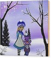 Winter Wonderland Wood Print by Charlene Murray Zatloukal