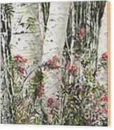 Winter Wood Jpg Wood Print