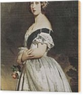Winterhalter, Franz Xavier 1805-1873 Wood Print by Everett