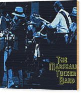 Winterland Blues With The Marshall Tucker Band 1976 Wood Print