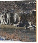 Winter's Artwork Wood Print