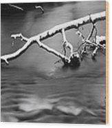 Winters Creek Wood Print